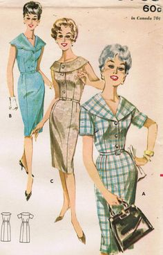 1960s Butterick 9765 UNCUT Vintage Sewing by midvalecottage, $10.00