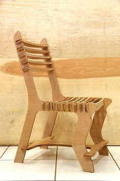 Hook chair- Open source CNC furniture. on Behance