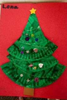 preschool christmas crafts - Google Search