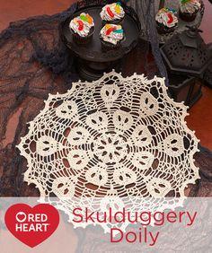 Skulduggery Doily Fr