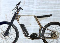 HopMod Electric Bike Frame Kickstarter mounting options complete bike