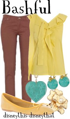 """""""Bashful"""" by disneythis-disneythat ❤ liked on Polyvore"""