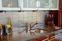 Built-in Small Kitchen Sink With Cabinet
