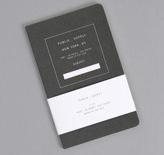 PUBLIC-SUPPLY: Notebook 02, Black