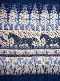 Neuleet lahjaksi naiselle tai miehelle | Päivineule, Joensuu, Lieksa Fair Isle Knitting Patterns, Fair Isle Pattern, Knitting Charts, Loom Patterns, Loom Knitting, Crochet Patterns, Image Chart, Scandinavian Pattern, Horse Crafts