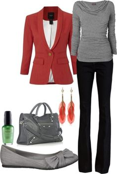 80 Elegant Work Outfit Ideas in 2017 - Are you looking for catchy and elegant work outfits? We all know that there are several factors which control us when we decide to choose something to... - work-outfit-ideas-2017-34 .