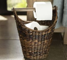 So simple, so smart - Perry Paper Holder | Pottery Barn