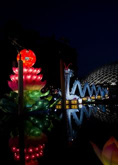 Chinese Lantern Festival at Missouri Botanical Garden in St. Louis.