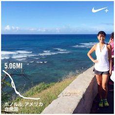 ハワイに来てから7年間:朝ランの習慣