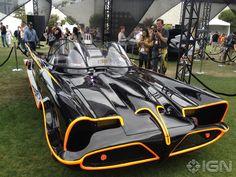 All of the Batmobiles, including the original.