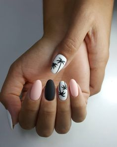 nail art designs for spring 2020 amazing nail art ideas that will inspire you amazing nail art nail decals 2020 trends 2020 sponge nail art Moon Manicure, Nail Manicure, Green Nail Polish, Green Nails, New Nail Art Design, Nail Art Designs, Stylish Nails, Trendy Nails, Swag Nails