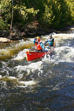 Rafting et canot de rivière.  Au Canot Volant - Saint-Côme