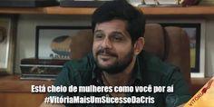 """Da serie memes do Jorge """"frases que não devem ser ditas""""... #AndreDiMauro #Jorge #Vitoria #NovelaVitoria #MemesJorge"""