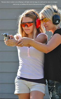 Take mom to the gun range this Mother's Day!