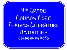 4th Grade Common Core Resources