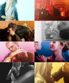 Image de stefan salvatore, caroline forbes, and the vampire diaries