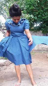 African Dresses For Women, African Attire, African Wear, African Fashion Dresses, Fashion Outfits, Women's Fashion, Traditional Dresses Designs, African Traditional Dresses, Shweshwe Dresses