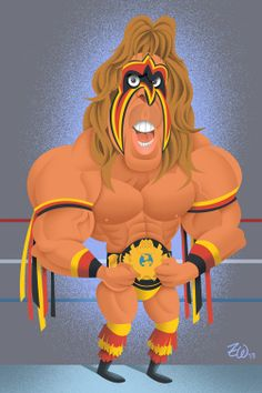 "The blog of Zack Wallenfang: Happy Birthday Jim ""The Ultimate Warrior"" Hellwig"