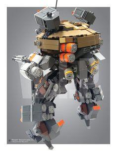 "Infantry Assault Division ""Roach"" Desert Camo R99 MkV Updated design_Day 17 | by Benjamin Cheh"
