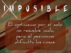 Una cita sobre el optimismo #citas
