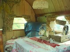 great camper interior