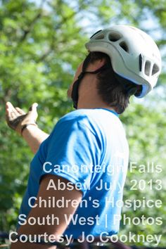 Abseiling for Children's Hospice South West. #abseil
