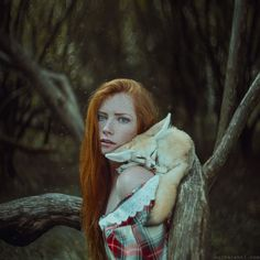 Ukrainian Photographer Brings Fairytales To Life In Magical Portraits Of Women With Animals | Bored Panda