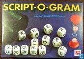 Spel - Script-o-gram - Script-o-gram  letterspel