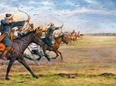 """""""Attila at the Catalaunian Plain, June 30,451 A.D.""""- La Pintura y la Guerra. Sursumkorda in memoriam"""