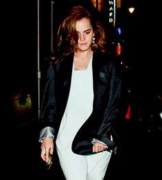 Emma Watson out in London; July 02, 2015
