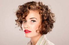 thin hair short curly styles - Google Search