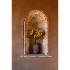 Detail of antique stone niche