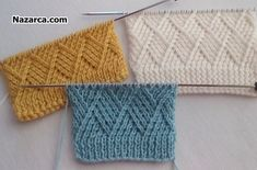 ÇAPRAZ ÖRNEKLİ AKIL FİKİR ÖRGÜ MODELLİ BERE | Nazarca.com Double Knitting, Knitting Stitches, Crochet, Stitch Patterns, Youtube, Model, Create, Knitting Patterns, Kids Knitting Patterns