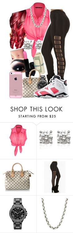 """""""So I hope she can keep you warm"""" by dajvuuloaf ❤ liked on Polyvore featuring Miso, Louis Vuitton, Michael Kors and King Baby Studio"""