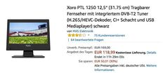 Medion Life P12308 39 6 Cm 15 6 Fernseher Mit Integriertem Dvd Player Tv Entertainment Entertainment Und Desktop