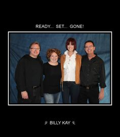 The talented stars from Day 3 of shooting the Ready... Set... Gone! music video at Las Vegas Motion Pictures — with Joseph Panebianco, Liz Fogg, Dani Reeves and Billy Kay.