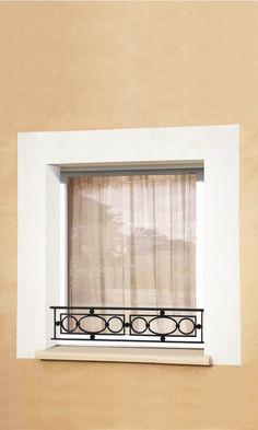 Wall Decor Design, Window Grill Design, Railing Design, Iron Windows, Window Sill, Stairway Design, House Front Design, Wrought Iron Window Boxes, Iron Decor