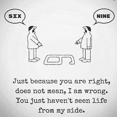 Just because you have an opinion, it doesn't mean you are right - #opinion #intelligence #mindgames #perspective #Respect #humble