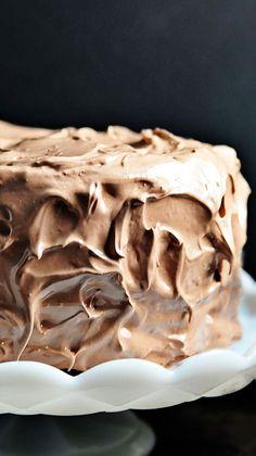 chocolate velvet cake...