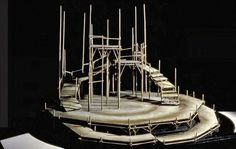 Peer Gynt. New York Shakespeare Festival, Delacorte Theatre. Scenic design by Ming Cho Lee. 1969