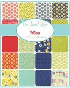 Moda Jelly Roll - The Sweet Life by Pat Sloan