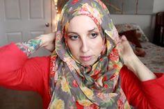 Hijab tutorial: Maximum coverage on the run