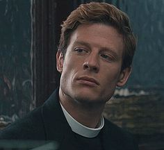 James Norton- the perfect jawline.