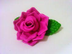 Flores Em Eva ( Emborrachado) , Vários Modelos E Cores. - R$ 3,00 no MercadoLivre