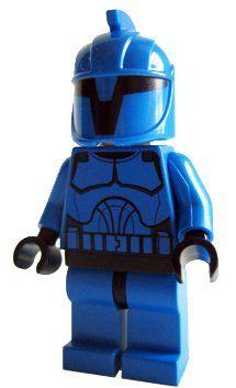 Senate Commando (Clone Wars) - LEGO Star Wars Minifigure by LEGO. $14.68. Rare Blue Senate Commando figure from Venator-class Republic Attack Cruiser. This Minifigure is exclusive to LEGO Set 8039 Venator-Class Republic Attack Cruiser.