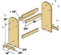 Wood Quilt Rack Plan  Design