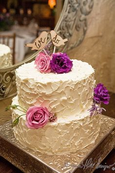 Shabby Chic Wedding Cake Topper Love Birds from Braggingbags.com