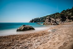 Playa - Beach Playa Costa Brava  46 sec Lee Super Stopper