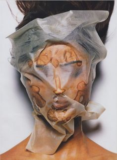 asylum-art-2: Irving Penn: Masks Irving Penn was an American photographer known for his fashion photography, portraits, and still lifes. Penn's career included work at Vogue magazine, and independent advertising work for clients including Issey Miyake and Clinique. Born: June 16, 1917, Plainfield, New Jersey, United States Died: October 7, 2009, New York City, New York, United States