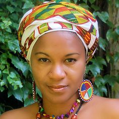 Image detail for -Suriname headwrap, surinaamse hoofddoek